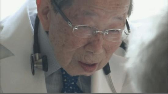 医師・日野原重明(ひのはら しげあき)さん 100歳