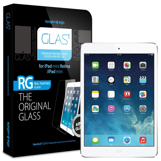 SPIGEN SGP  GLAS.t ≪強化ガラス液晶保護フィルム≫ for iPad mini Retina