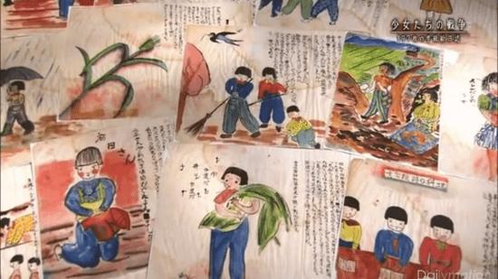 NHKスペシャル「少女たちの戦争 197枚の学級絵日誌」