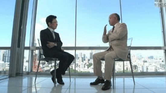 浅田次郎さんと古館キャスターの対談 「原発と日本人」