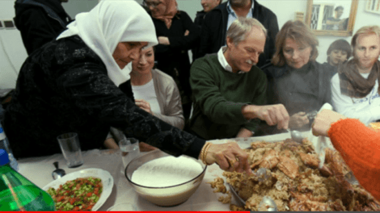 パレスチナの料理 「マクルーバ」
