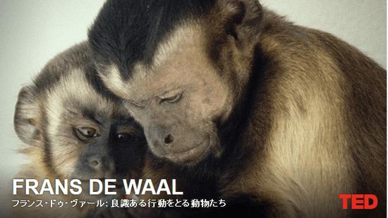 フランス・ドゥ・ヴァール: 良識ある行動をとる動物たち