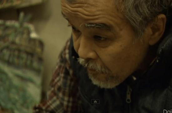画家・ガタロさん(63歳)