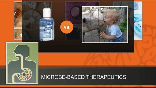 殺菌のし過ぎなどで 微生物の役目を妨害している