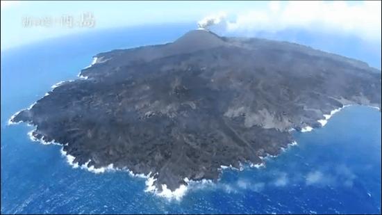 NHKスペシャル「新島誕生 西之島 ~大地創成の謎に迫る~」