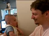 生後3ヶ月の赤ちゃんが「I love you」ってしゃべった瞬間
