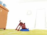 【短編アニメ】 ごはんが嬉しすぎて残念な結果になる犬