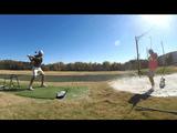 ゴルフのトリックショットをGoProで撮影してゴルファー目線でお届けする驚愕ムービーの第2弾があいかわらずスゲー