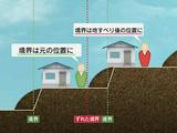 地すべりで土地の境界線が動いてしまい、工事をしようにも住民の意見がまとまらない/NHK・クローズアップ現代「丘陵住宅地に潜む危機 被災地からの警告」