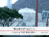 """""""夢の原子炉""""はどこへ ~もんじゅ""""失格""""勧告の波紋~/NHK・クローズアップ現代"""