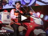 最速の救急車はバイク型/エリ・ビア