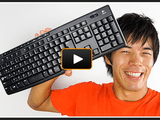 なんと1480円!コスパ最強でAmazonでの評価も高いワイヤレスキーボード「Logicool K270」の動画レビュー