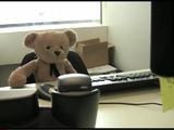 ちょっぴり短気だけど哀愁たっぷりで憎めないテディベアが主人公の物語「Misery Bear(ミザリーベア)」/会社に逝く編
