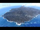 NHKスペシャル「新島誕生 西之島 ~大地創成の謎に迫る~」/島から4kmの場所に母船を停泊させ、遠隔ロボットを海上・海中・上空へと出動させた迫力の超接近映像
