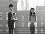これは良い話♪ 男女の出会いをテーマにディズニーが製作した短編アニメーション/Paperman Full Animated Short Film