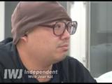 「福島県では警察官がかなり死んでいて、しかも警察はそれを発表していない」など、爆弾発言てんこ盛りのインタビュー映像