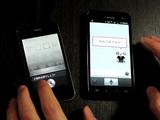 iPhoneの「Siri」とNTTドコモの「しゃべってコンシェル」に同時に話しかけて音声認識の精度を比較