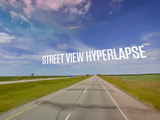 Googleのストリートビュー画像をつないで作った映像作品「Google Street View Hyperlapse」が素敵