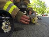 火災現場で意識を失っていた子猫を救出して蘇生させるまでの実録ムービーが素敵