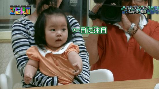 コミュニケーションと視線の深い関係/赤ちゃんの目に注目