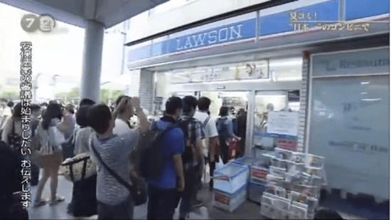 """NHK・ドキュメント72時間 「夏コミ!""""日本一""""のコンビニで」"""