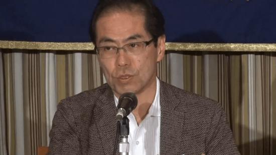 報道ステーションを降板させられた理由を語る古賀茂明さん