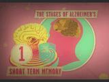 アルツハイマー病がどのような段階を経て脳を侵していくのかをアニメーションで優しく解説