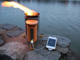 焚き火でiPhoneを充電できる!BioLite CampStove(バイオライト・キャンプストーブ)のデモ
