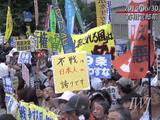 「集団的自衛権の行使容認に反対!」 2014.6.30 決壊寸前、首相官邸前抗議(10分ダイジェスト)