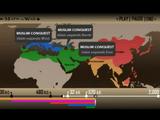過去5000年に渡る宗教の勢力地図を2分でまとめた映像