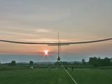 人力による羽ばたき飛行が世界で初めて成功した瞬間