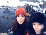 日本大好き!外国人旅行者の美女2人が「真冬の長野県」を旅するロードムービーが素敵