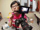 かなり良いらしい!EOS 5DmarkⅢで自分撮りが出来る「SONY クリップオンLCDモニター CLM-V55」の、やる気が無いけどめちゃくちゃ分かりやすい動画レビュー