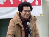 モジモジ先生おかえり!/不当逮捕された下地真樹(しもじまさき)さんご本人が釈放会見(2012.12.29)
