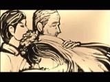 「父親の人生」を描いた砂絵(サンドアート)がしんみり素敵
