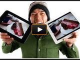 Nexus10 と iPad(Retinaディスプレイ)の画質を比較した動画レビューが分かりやす過ぎる! 「文字の読みやすさ」では Nexus10、「写真の深み」では iPad に軍配