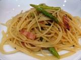 アスパラガスとベーコンのパスタ(Asparagus & bacon pasta)の作り方・レシピ