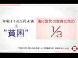 "NHK・クローズアップ現代「深刻化する""若年女性""の貧困」/生活保護行政の違法な対応により、本来利用できる制度利用にいたらず、生きるために風俗の仕事をする人も"