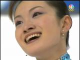 荒川静香 トリノ・オリンピックで金メダルを決めたラストプログラムの演技(Shizuka Arakawa Olympics 2006 LP )