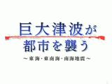 NHKスペシャル「巨大津波が都市を襲う ~東海・東南海・南海地震~」